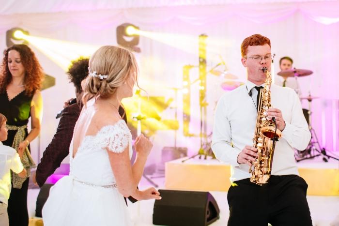 sax solo to bride london