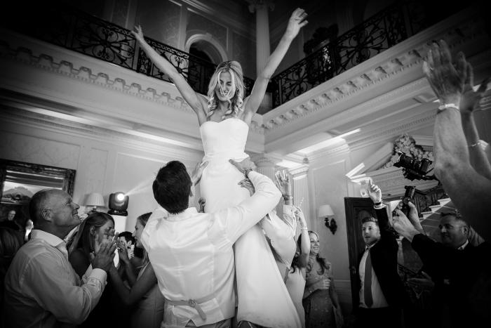 magic wedding moment
