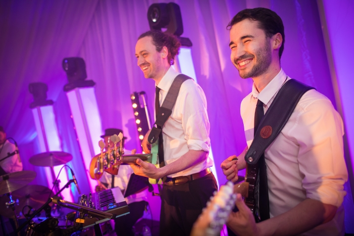 Interactive wedding band in London