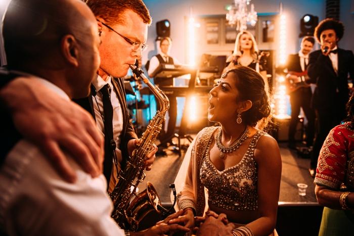 Offley Plac ehitchin Sax Wedding