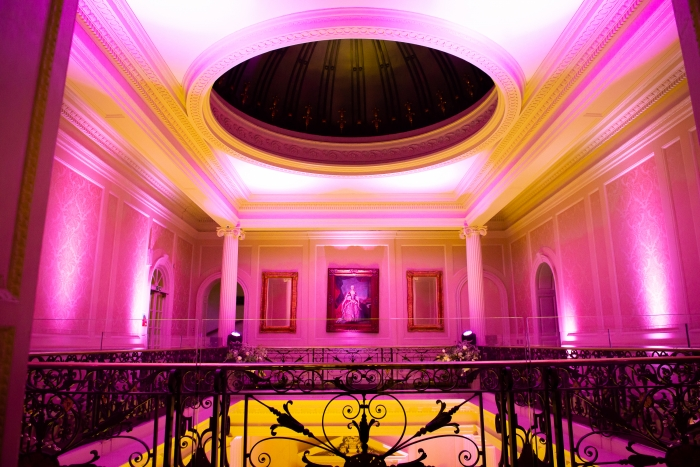 Hedsor House - Balcony and Ceiling Lighting