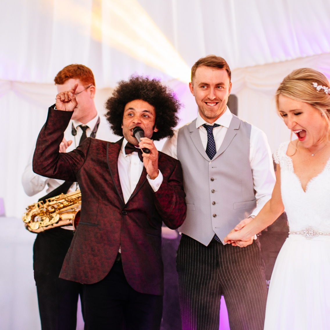 interactive wedding entertainment