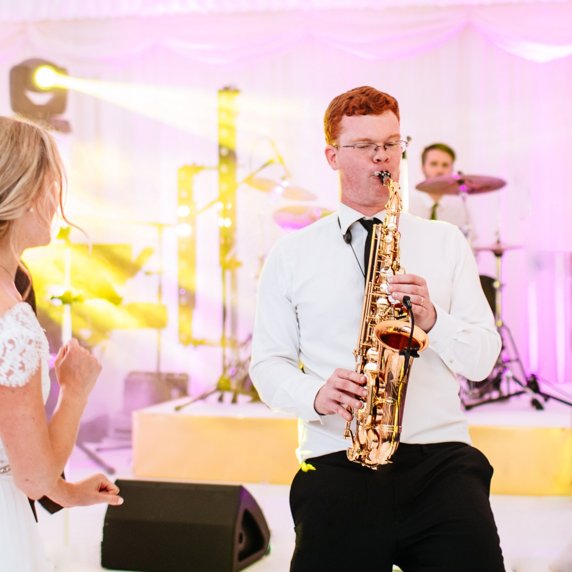 sax solo to bride london