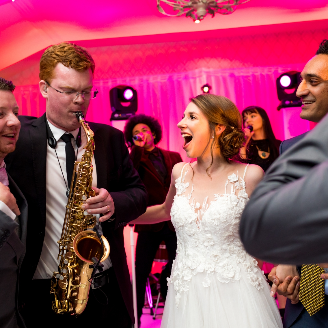 Pennyhill Park Wedding Band