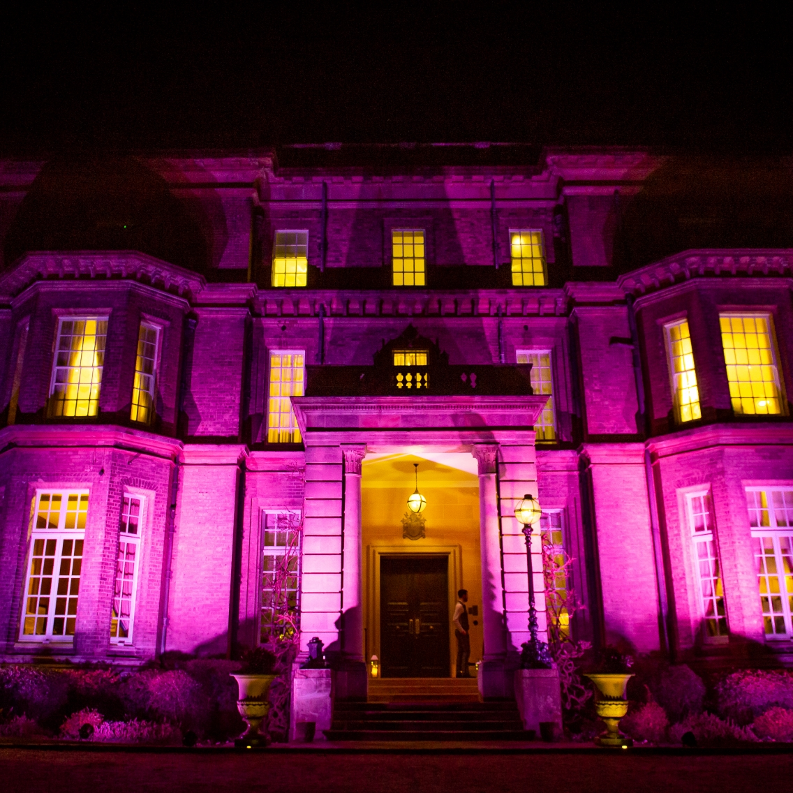 Hedsor House - Outside Uplighting